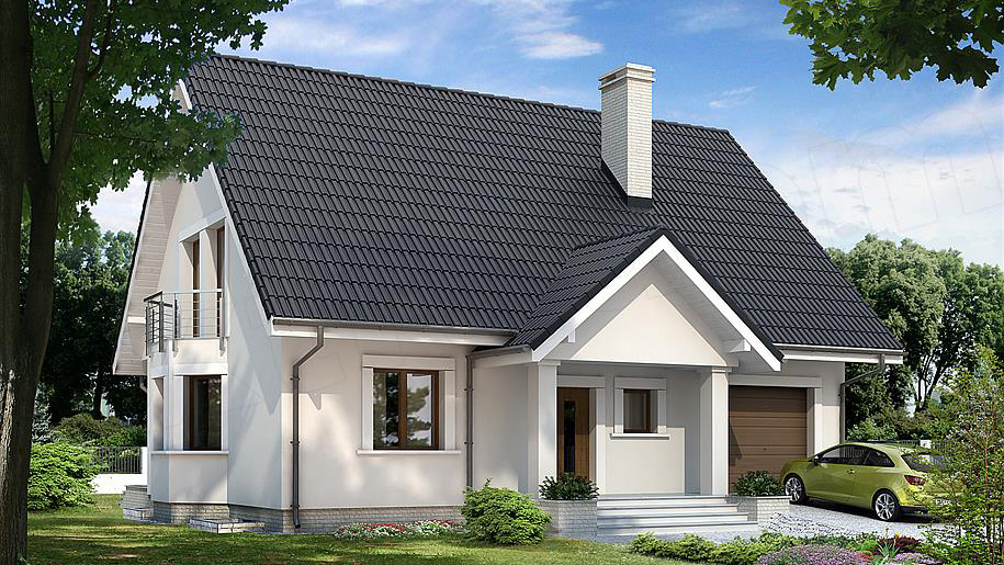 Projekt domu: Goździk