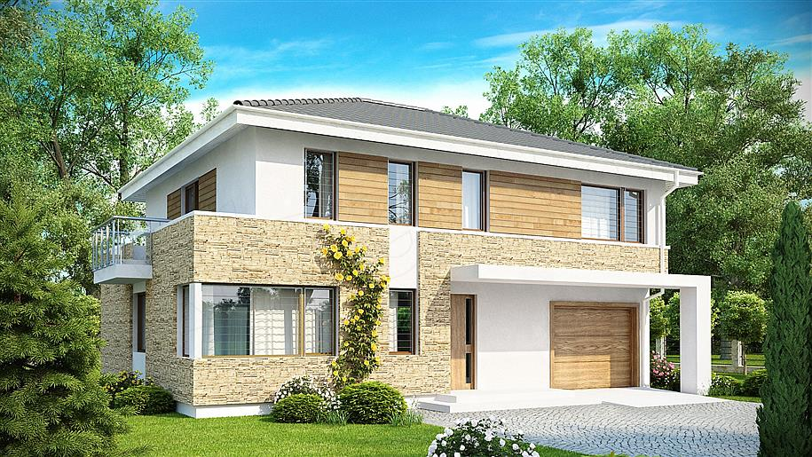 Projekt domu: Zx29