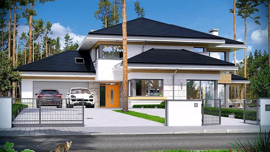 Projekt domu: Dom z widokiem