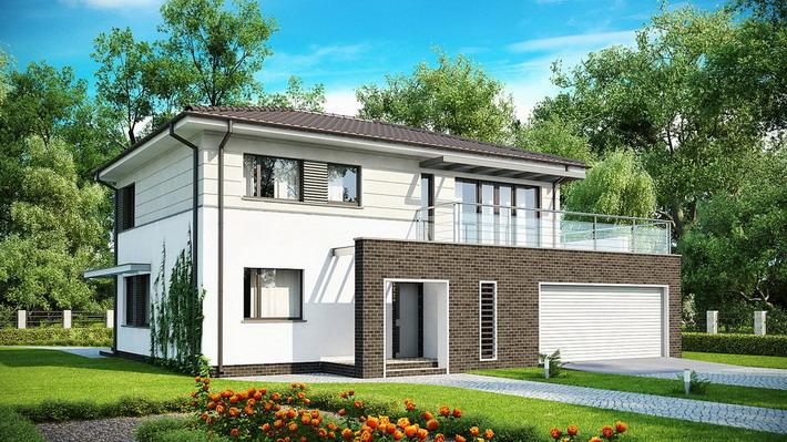 Projekt domu: Zx26