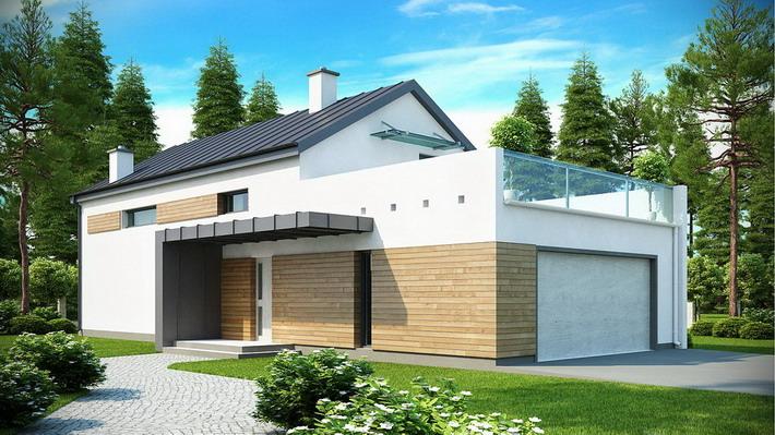 Projekt domu: Zx60