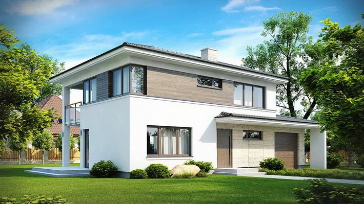Projekt domu: Zx8