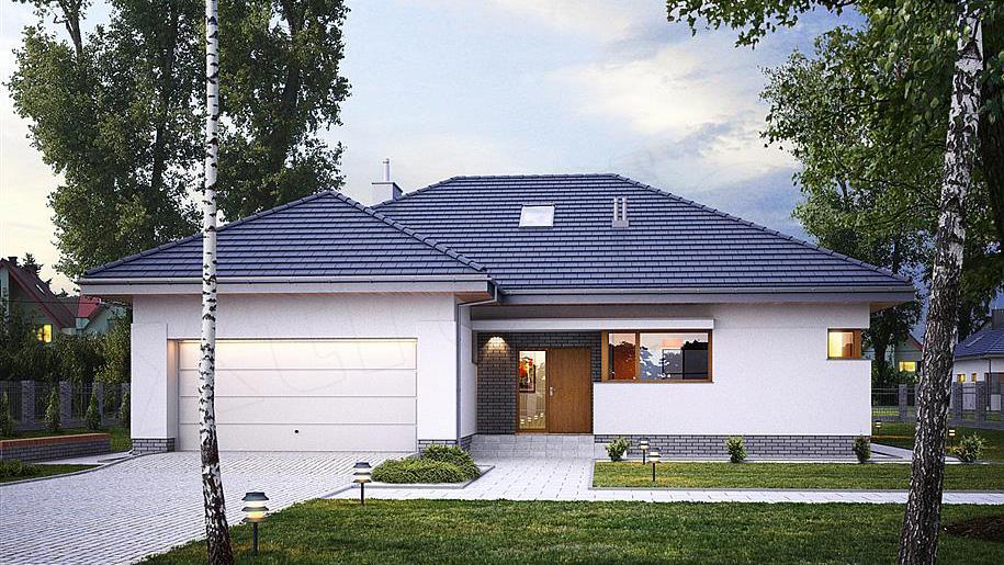 Projekt domu: E-114