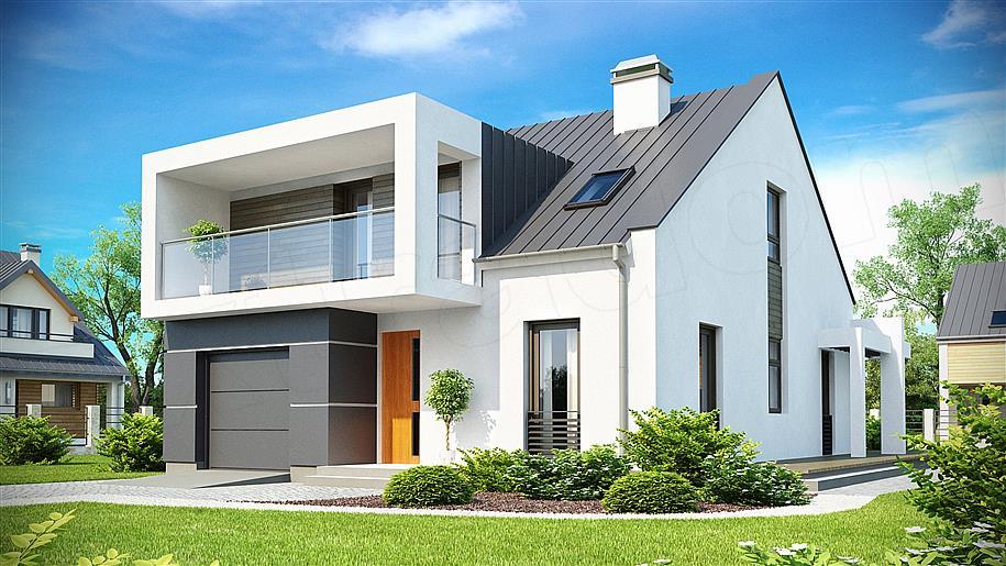 Projekt domu: Zx44