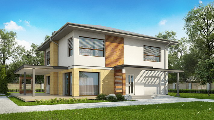 Projekt domu: Zx2 Lv2